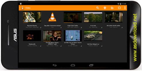 VLC for Android-مدیا پلیر پخش فیلم و موزیک اندروید