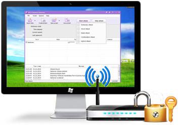Wireless Password Recovery Pro v3.3.5.329-بازیابی رمز عبور شبکه وایرلس