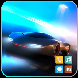 car theme-تم ماشین های مدرن برای اندروید