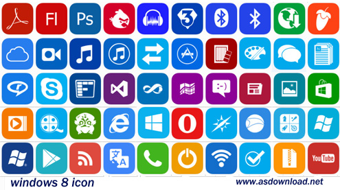 windows 8 icon-دانلود مجموعه آیکون برای ویندوز 8