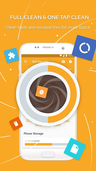 Free 360 Security - Antivirus,Booster,Space Cleaner - آنتی ویروس و افزایش سرعت 360 درجه ای اندروید