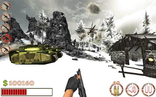 Screenshots of the Commando sniper shooter 3D for Android tablet, phone.