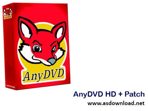 دانلود AnyDVD HD 7.5.7.0 Patch- نرم افزار شکستن قفل CD و DVD