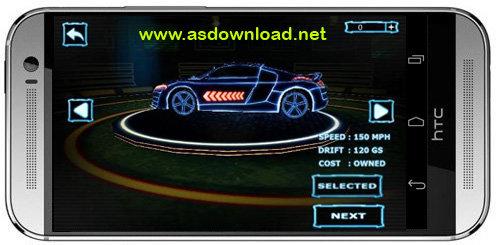Asphalt: Neon-بازی مسابقه آسفالت نئون برای اندروید- بدون دیتا