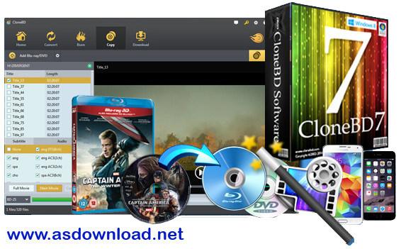 CloneDVD 7 Ultimate 7.0.0.11-نرم افزار کپی برداری از فیلم های قفل شده