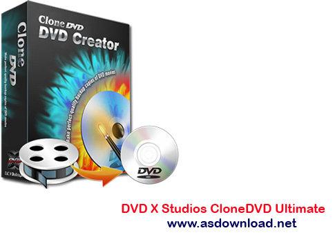 DVD X Studios CloneDVD Ultimate 7.0.0.11-نرم افزار رایت و فشرده سازی DVD