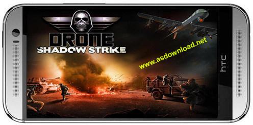 Drone: Shadow strike v1.1.59-بازی جنگی هواپیمای بدون سرنشین برای اندروید