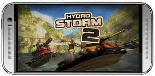 Hydro storm 2-بازی مسابقه طوفان آبی 2 برای اندروید