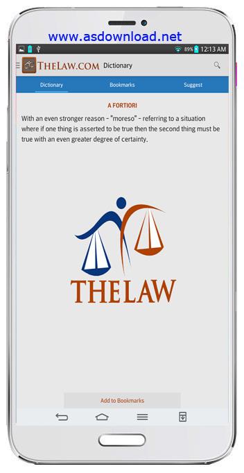 Law Dictionary Guide-دیکشنری حقوقی برای اندروید