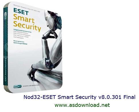 دانلود نسخه جدید Nod32 ESET Smart Security v8.0.305 Final