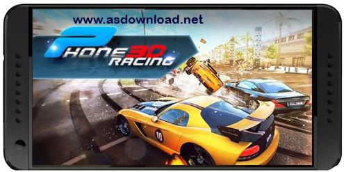 Phone racing 3D. Car rivals: Real racing-بازی مسابقه واقعی برای اندروید-بدون دیتا