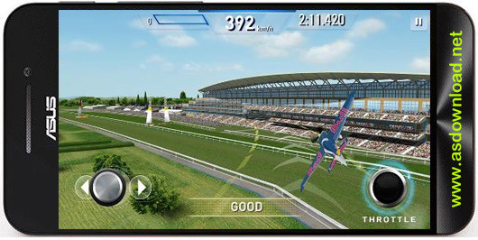 Red Bull air race: The game-بازی مسابقه هوایی ردبول برای اندروید+دیتا
