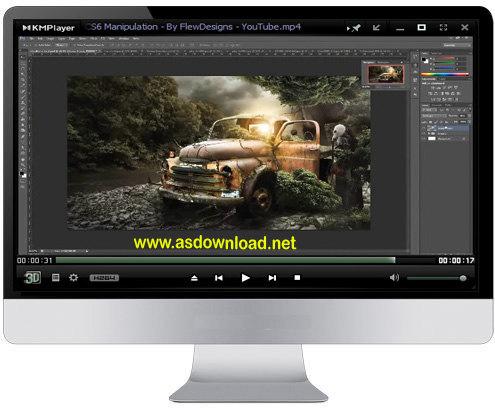 فیلم آموزش ساخت جلوه های سینمایی با فتوشاپ cs6