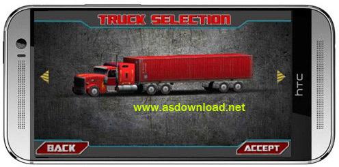 Truck driver 3D- بازی سه بعدی راننده کامیون برای اندروید