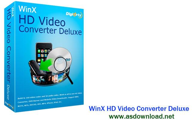 Photo of WinX HD Video Converter Deluxe 5.5.0.204- نرم افزار تبدیل فیلم های hd