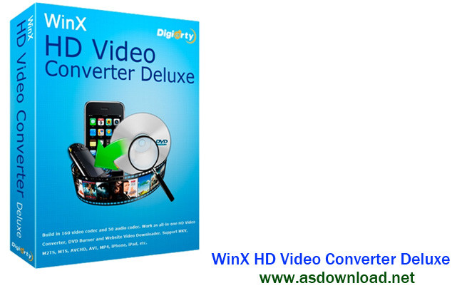 WinX HD Video Converter Deluxe 5.5.0.204- نرم افزار تبدیل فیلم های hd