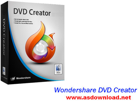 Wondershare DVD Creator 4.0.0.13+DVD Menu Templates-نرم افزار رایت فیلم و ساخت منوی dvd