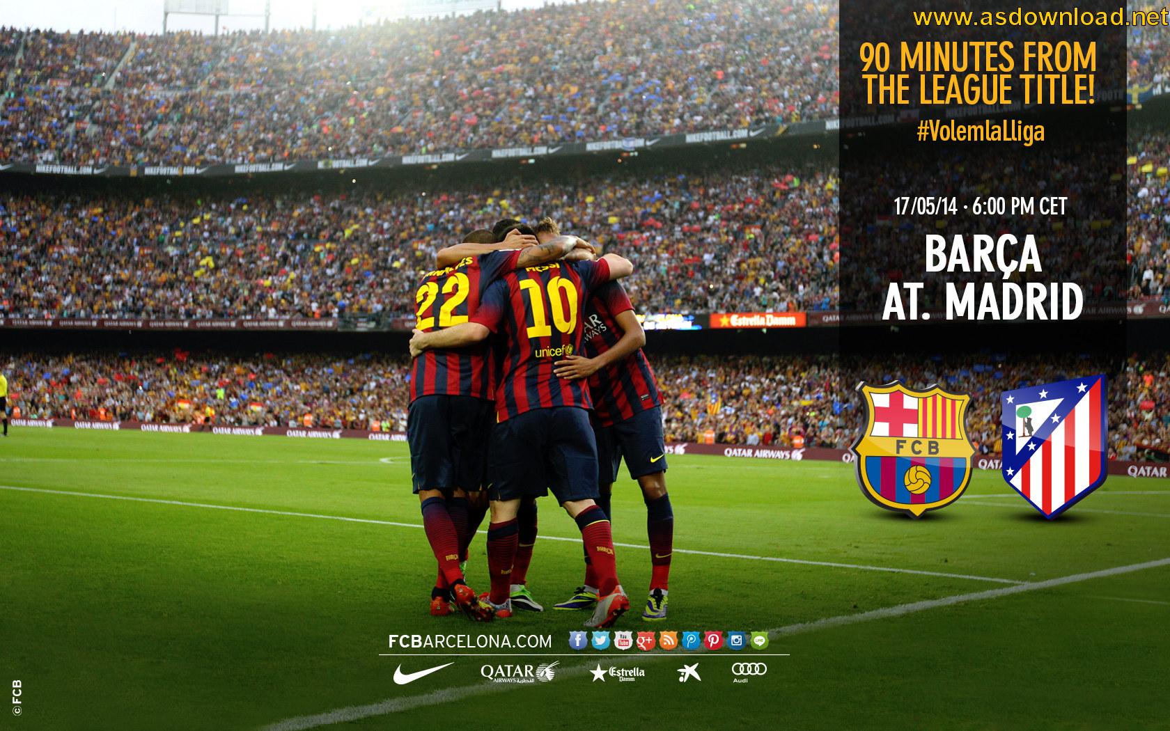 دانلود سری جدید والپیپر تیم بارسلونا