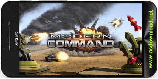 Photo of Modern command-بازی جنگی فرمان مدرن برای اندروید+دیتا