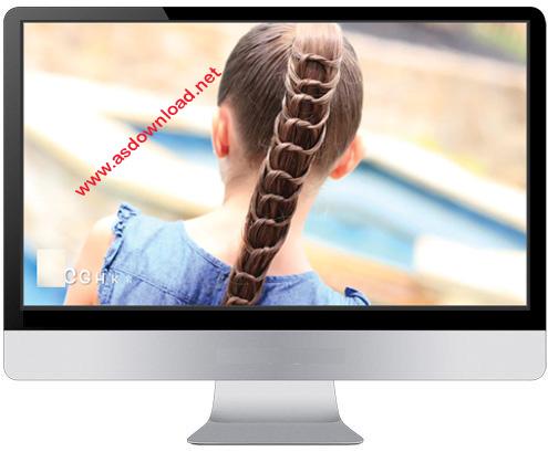دانلود فیلم آموزش بافت موهای بلند به روش حرفه ای