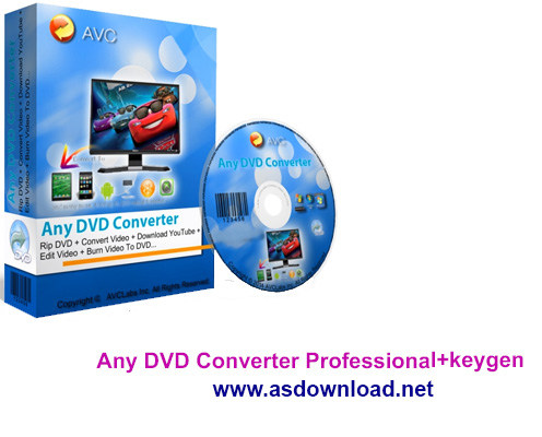 Any DVD Converter Professional.5.7.7+keygen-نرم افزار تبدیل تمامی فرمت های ویدئویی