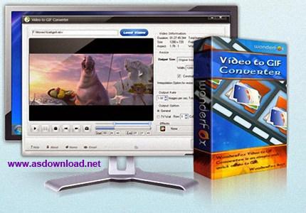 Aoao.Video.to.GIF.Converter.4.0 cracked-نرم افزار تبدیل فیلم به عکس متحرک gif