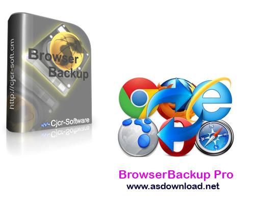 BrowserBackup Pro 9.0.0.0-نرم افزار بکاپ گیری از مرورگرها
