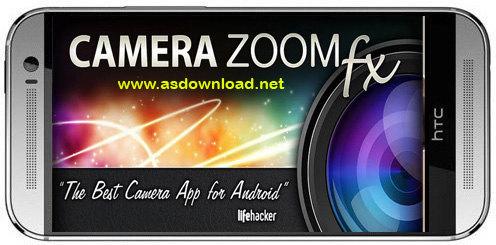 Camera ZOOM FX Premium v5.4.5 Build 122-نرم افزار دوربین عکاسی برای اندروید