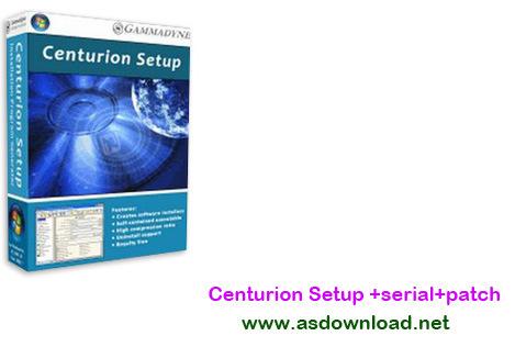 Centurion Setup v24.0+serial+patch-نرم افزار ساخت فایل setup برای نصب