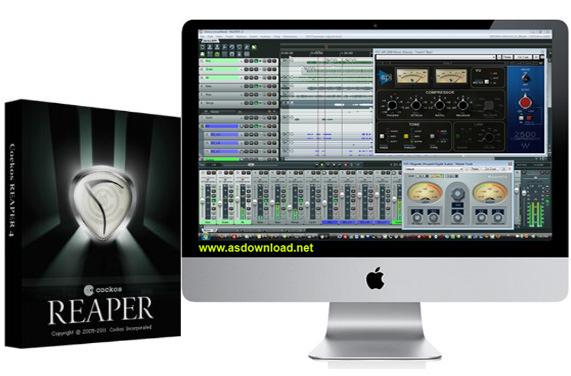 Cockos REAPER v4.75 + x64 + keygen-نرم افزار میکس و ویرایش موزیک