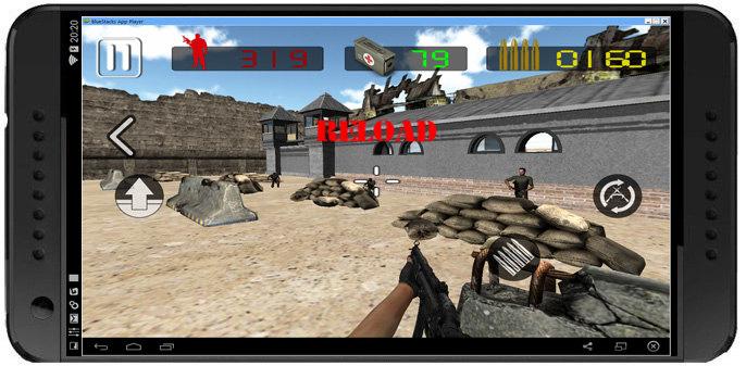 Death shooter: Commando 3D-بازی تکاور تیرانداز مرگ برای اندروید