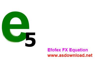 Efofex FX Equation 5.004.0 + keygen-دانلود نرم افزار نوشتن مسائل ریاضی و طراحی نمونه سئوال