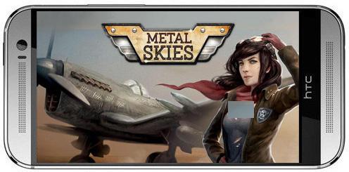 Metal skies-بازی جنگی آسمان فلزی برای اندروید