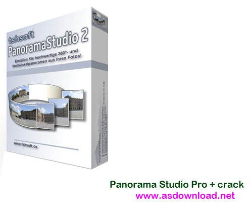 Panorama Studio Pro 2.6.6 + crack-نرم افزار ساخت تصاویر پانوراما