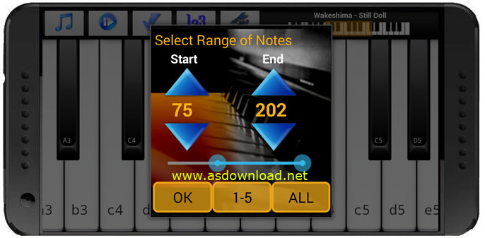 Piano Melody Free-نرم افزار یادگیری پیانو با اندروید