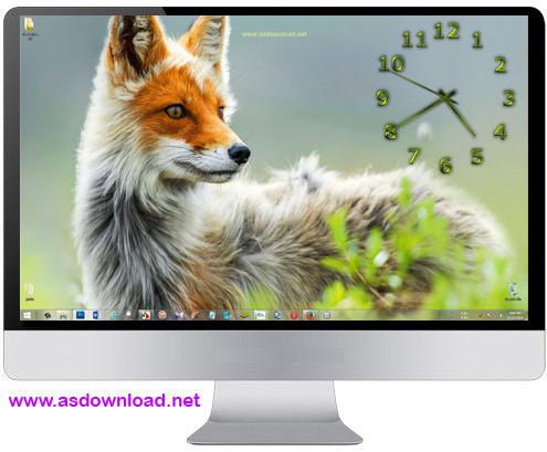 TheAeroClock 3.77 + x64-ساعت دیواری فوق العاده زیبا برای ویندوز