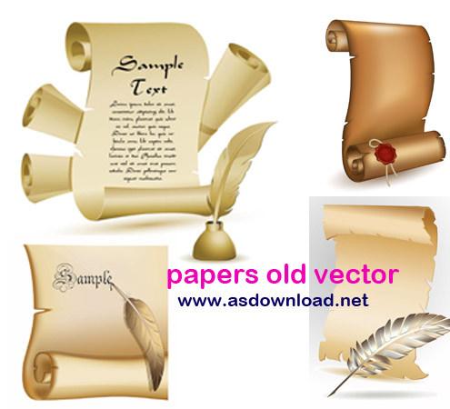 دانلود وکتور کاغذ خوشنویسی