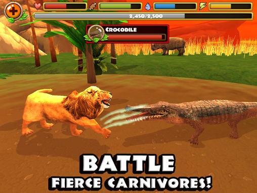 Photo of Safari simulator: Lion-بازی نبرد در نقش شیر برای اندروید