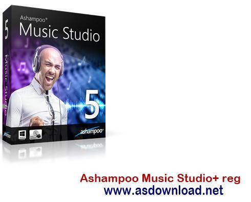 Ashampoo Music Studio 6 v6.0.0.24 + reg-نرم افزار ویرایش موزیک