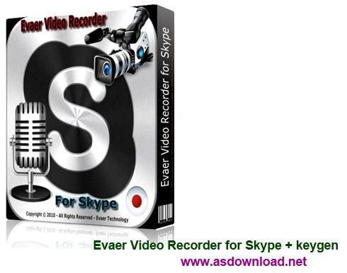 Evaer Video Recorder for Skype 1.6.2.51 + keygen-نرم افزار ضبط ویدئو برای اسکایپ