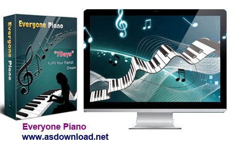 Everyone Piano 1.8.1.7-دانلود نرم افزار پیانو
