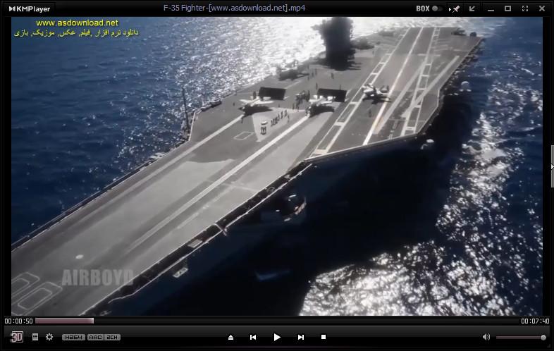 فیلم مستند از سریعترین جنگنده جهان F-35