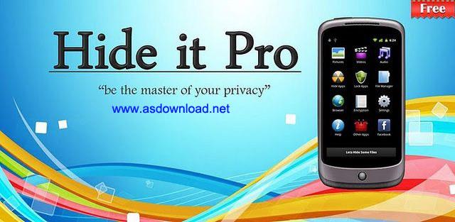 Hide Pictures - Hide It Pro v4.2.1-نرم افزار مخفی سازی فایل ها و برنامه های اندروید