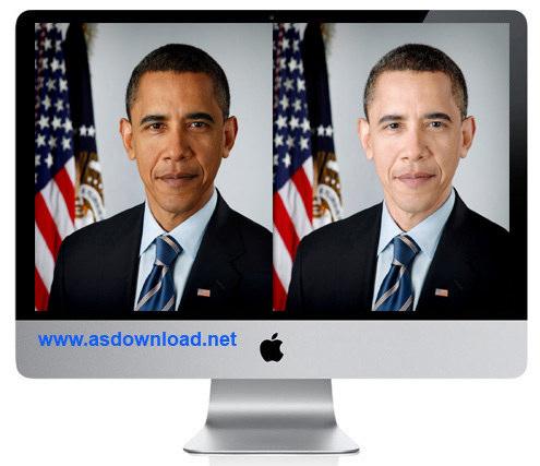 دانلود فیلم آموزش سفید کردن چهره اوباما با فتوشاپ cs4, cs5, cs6