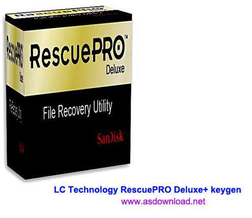 LC Technology RescuePRO Deluxe 5.2.4.5 + keygen-نرم افزار بازیابی اطلاعات