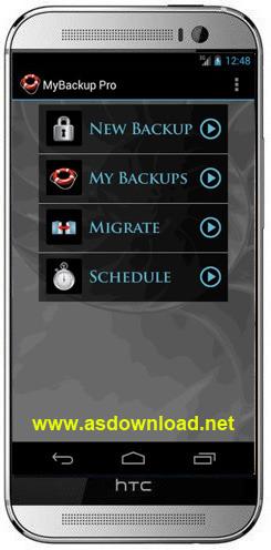 MyBackup Pro v4.2.6-نرم افزار بکاپ گیری اندروید