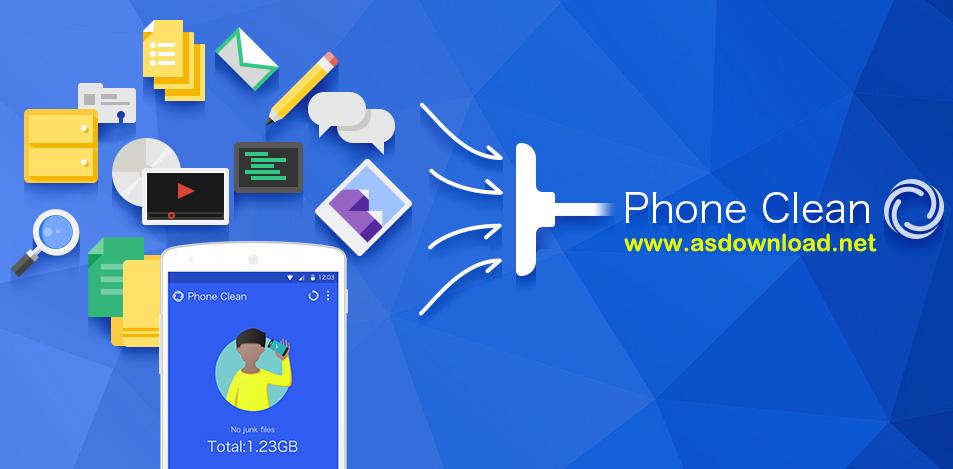 Phone Clean & Booster 1.0.0 - نرم افزار افزایش سرعت گوشی اندروید