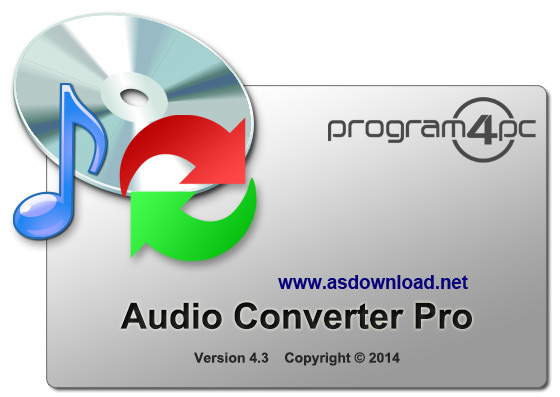 Audio Converter Pro 4.3 + crack-نرم افزار تبدیل فایل های صوتی