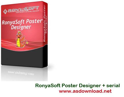 RonyaSoft Poster Designer 2.01.55 + serial-نرم افزار طراحی بنر و پوستر