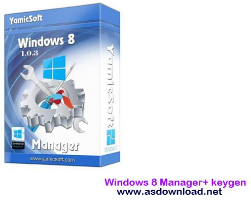 Windows 8 Manager 2.2.0 + keygen-نرم افزار مدیریت ویندوز 8